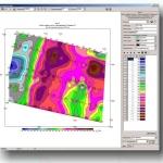 Построение структурных карт и карт геоэлектрических параметров: суммарной продольной проводимости, среднего продольного сопротивления, минерализации,мощностей, остаточных аномалий, удельного сопротивления
